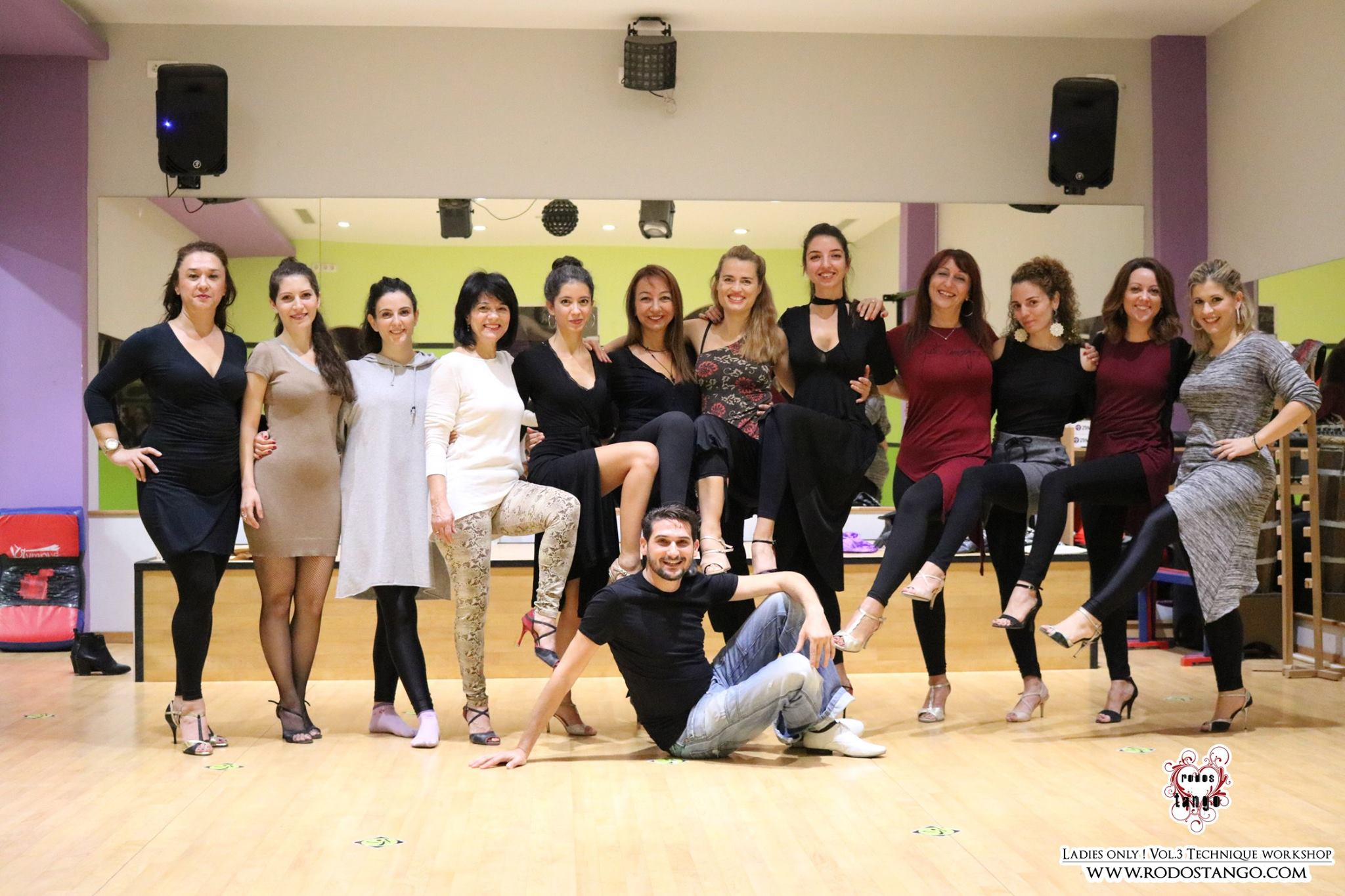 3rd ღ RodosTango.com - Ladies Only! με την Έλλη Καραδήμου Tango Workshop