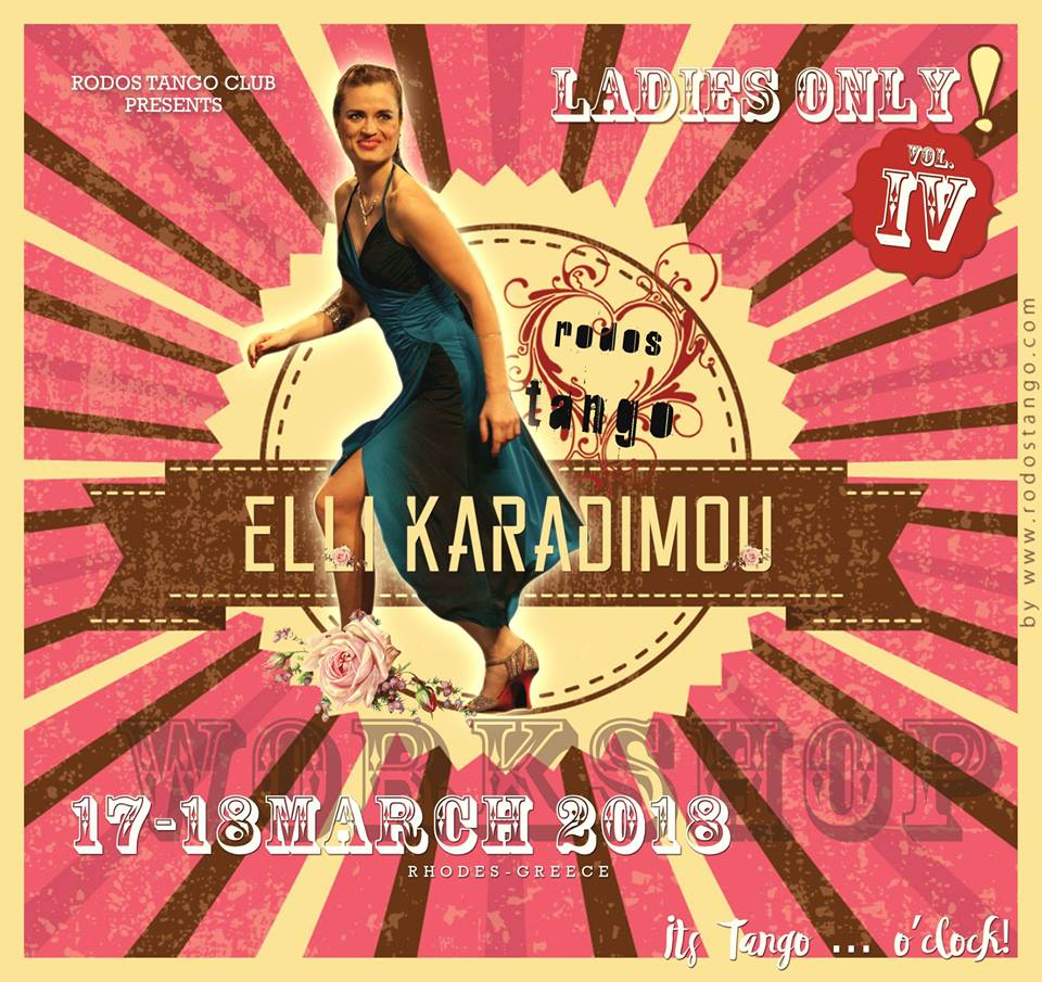 Ladies Only Vol 4 Workshop Elli Karadimou March 2018 by Rodostango.com