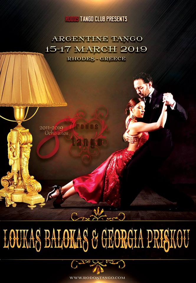 ღ Rodos Tango - Workshop Loukas Balokas & Georgia Priskou 15-17 March 2019
