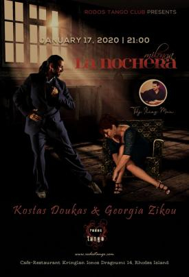 17.1.2020 Milonga La Nochera - ShowTime Kostas & Georgia